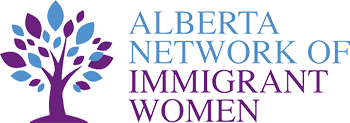 Alberta Network of Immigrant Women Logo